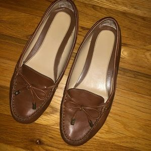 Michael Kors Leather flats in 8.5 chestnut